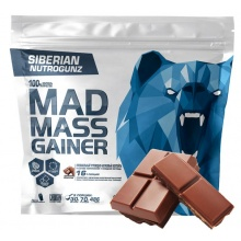 Гейнер Siberian Nutrogunz MAD MASS GAINER 2000 ГР