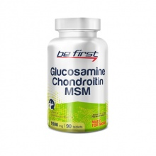 Хондропротектор Be First Glucosamine + Chondroitin + MSM 90 табл.
