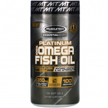 Антиоксидант MuscleTech Essential 100% Fish Oil 100 кап