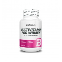 Витамины BioTech USA Pink Fit Multivitamin for women  60 таблеток